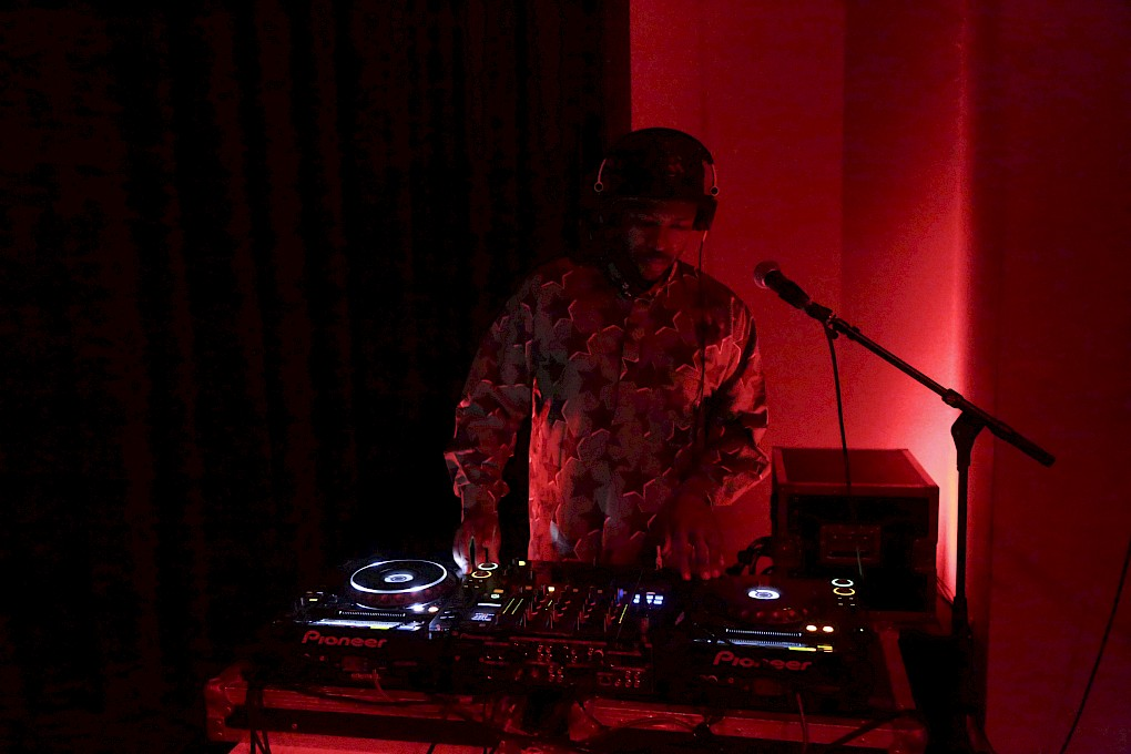 The Incantation of the Disquieting Muse | DJ Set by Spoek Mathambo | Photo: Hannes Wiedemann