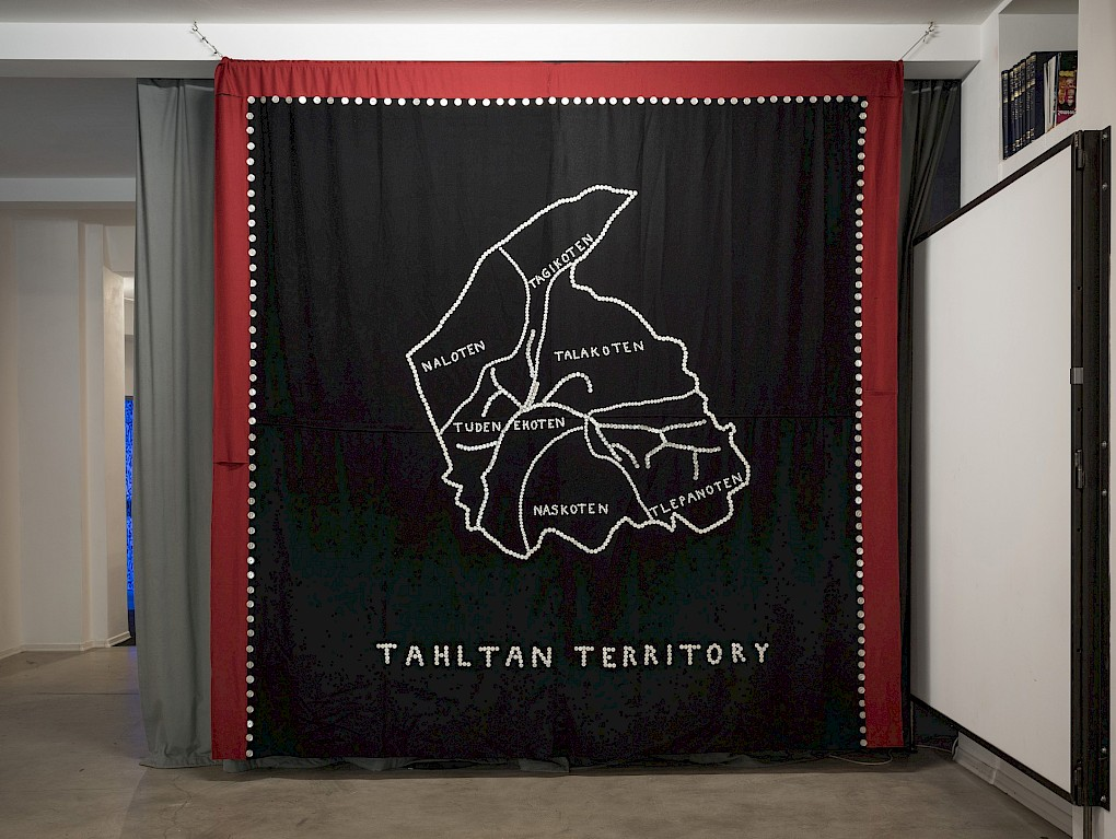 Peter Morin: Tahltan Territory. 2015 | Photo: Marvin Systermans