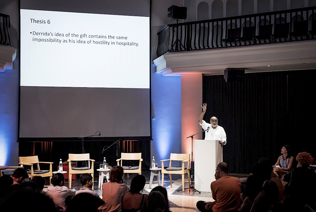 CARESSING THE PHANTOM LIMB: Keynote by Arjun Appadurai | Photos: Marvin Systermans