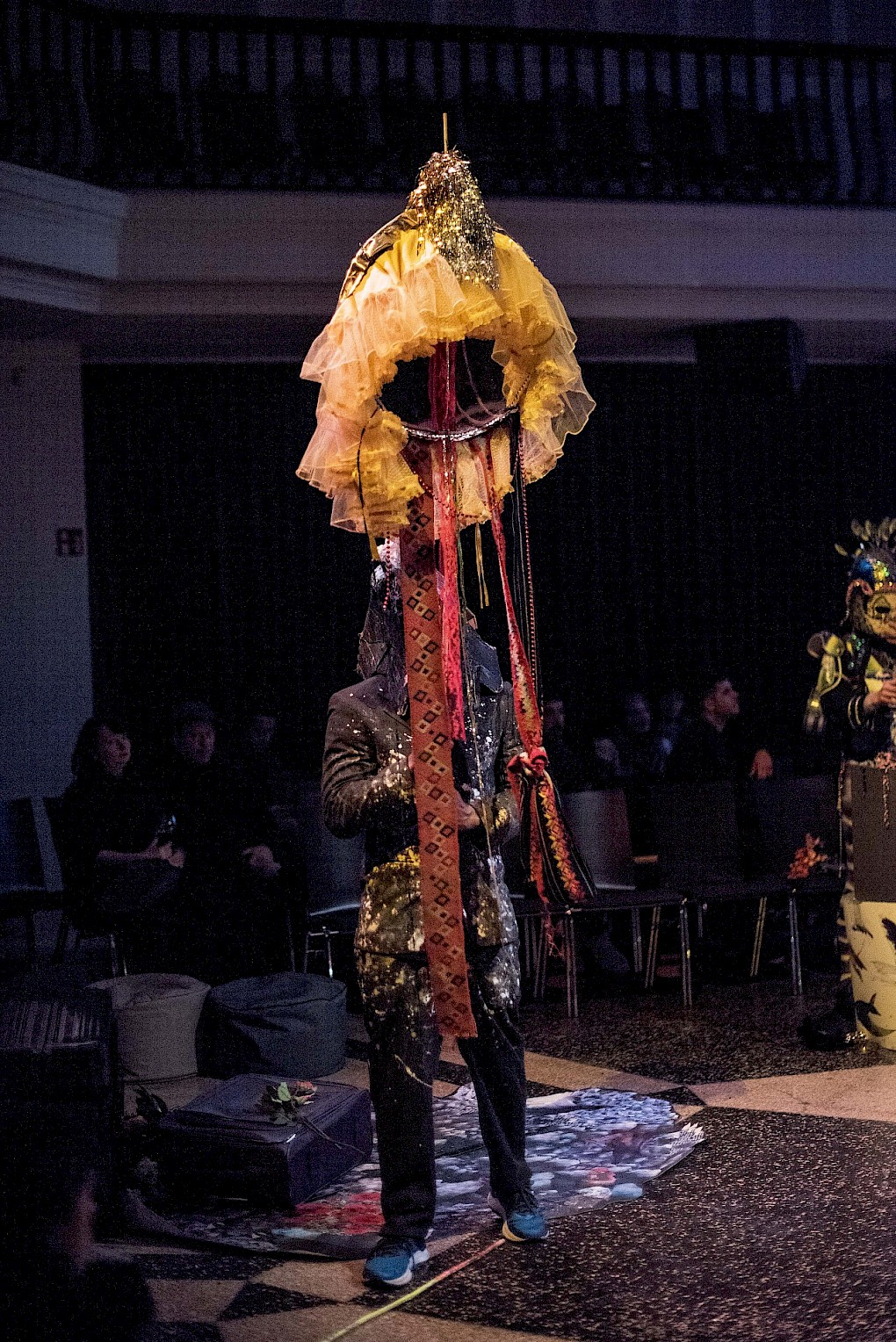 Incantations for Ecologies of Darkness: Performance by Valeria Montti Colque | Photo: Raisa Galofre