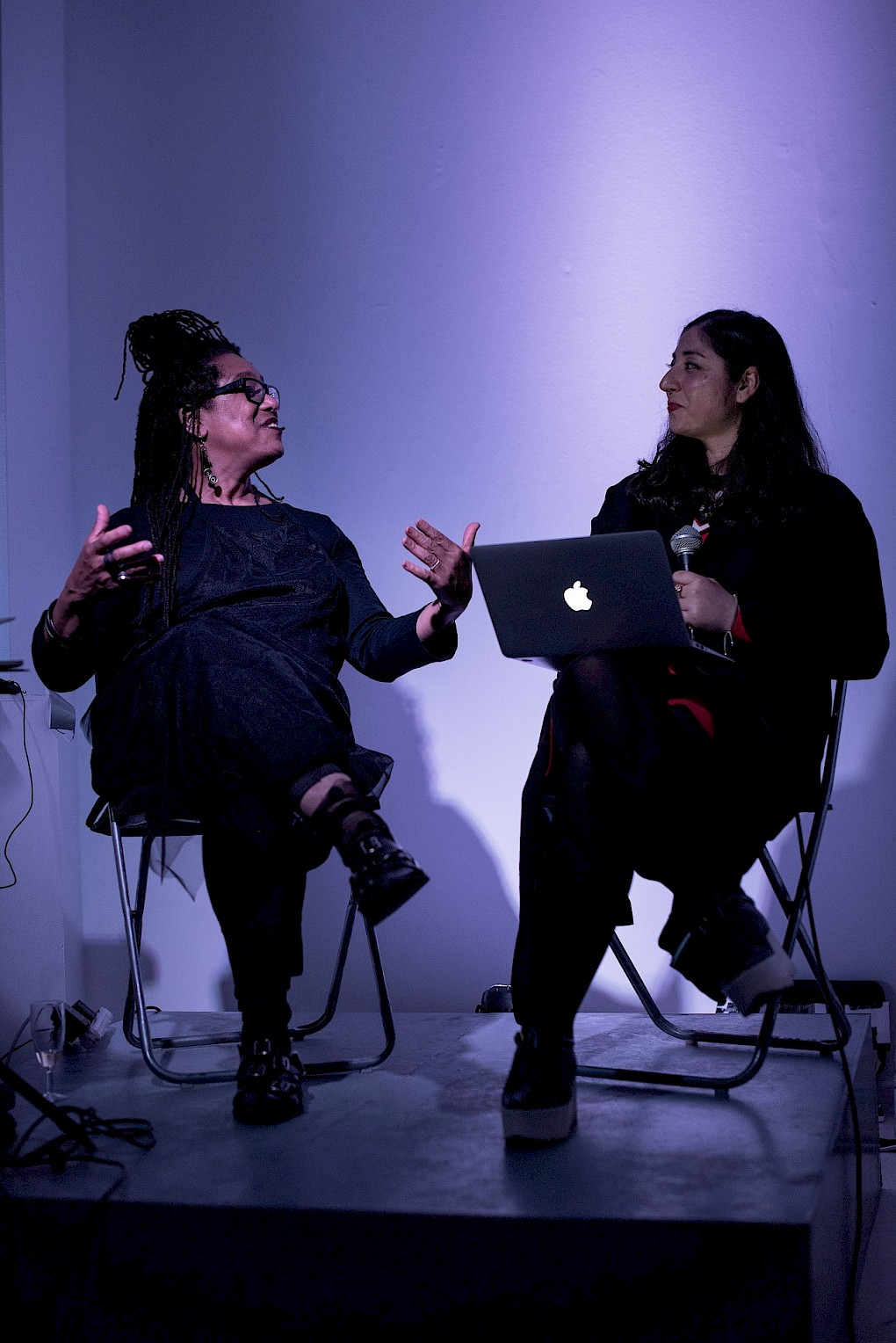 Pamela Z: Other Rooms. Performance & Discussion  |  Photo: Raisa Galofre