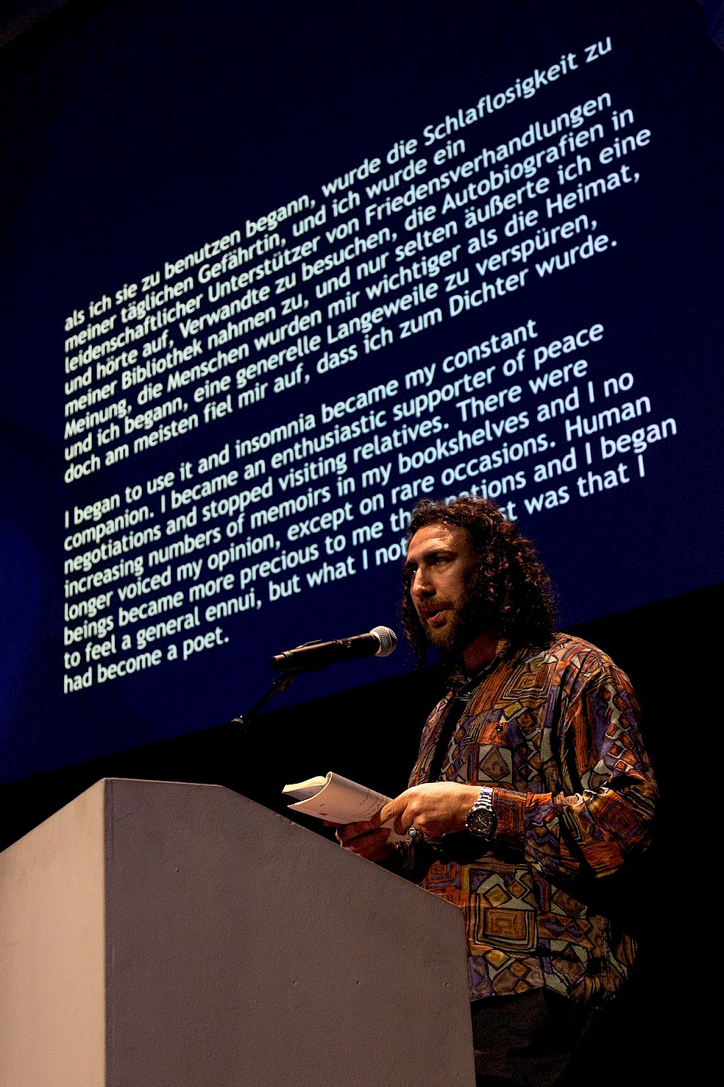 Ghayath Almadhoun | Photo: Patrik Bablo