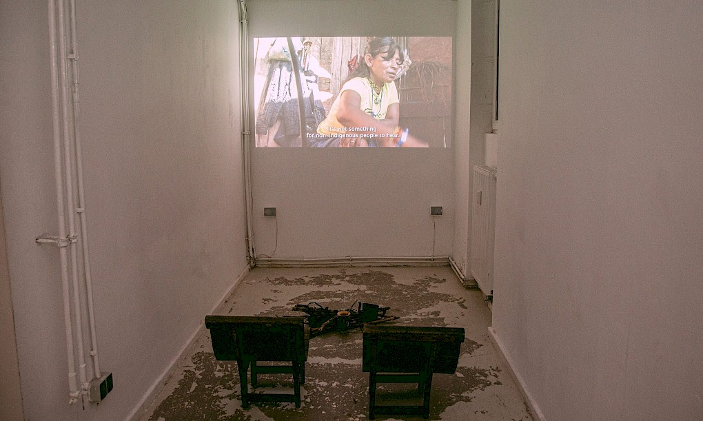 Installation view by Bona Bell